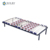 Hot Sale Black Color Single Size Wrought Iron Platform Bed With Spring Plate