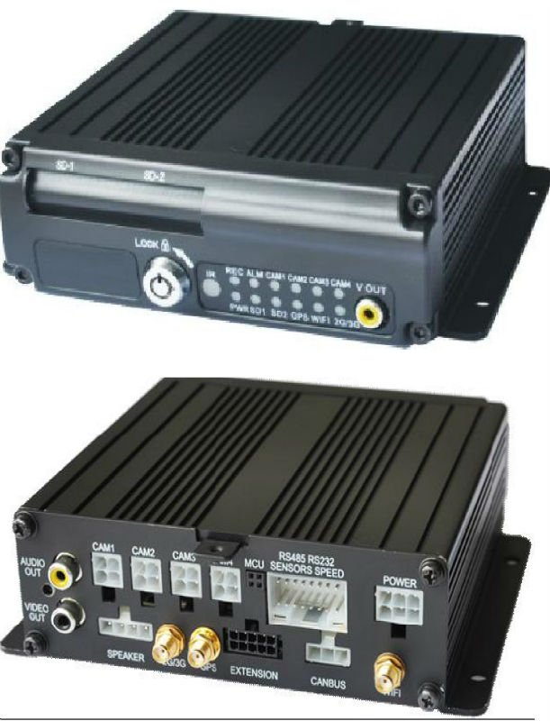 GPS and GSM Digital Video Recorder