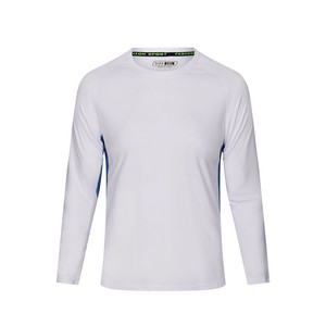 High quality fashion sport long sleeve t shirt men custom t shirt