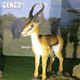 Animal theme park high quality animatronic outdoor or indoor deer
