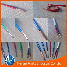 PVC insulated Copper or Aluminum low electrical wire prices