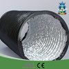 HVAC greenhouse round black aluminum flexible duct PVC air duct