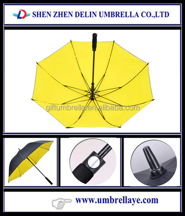 colorful double layer uv protection oversized golf umbrella trophies baseball