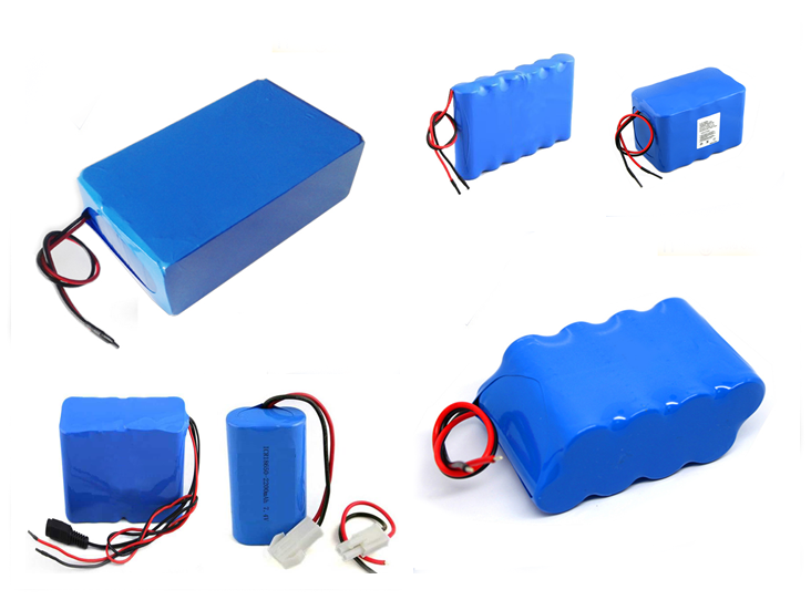 Li-ion battery 3.7v 1000mah~2000mah rechargeable battery for metering and laptop