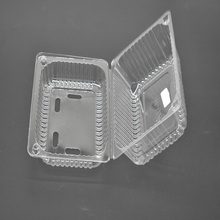 PET Plastic Disposable Clear Fruit Package Box Fruit Tray