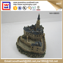 Polyresin 3D House Building Figurine/Building Model Making