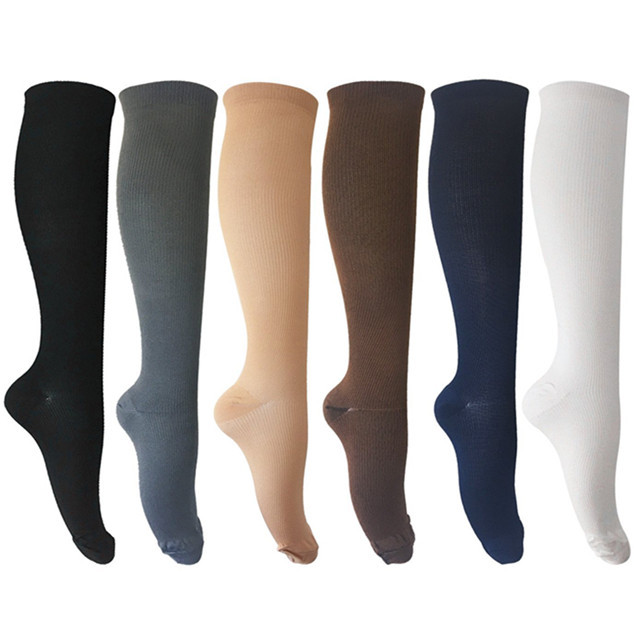 Zipper Compression Sock with Toe Open Knee High Socks Man,compression sock,knee high sock,man sock
