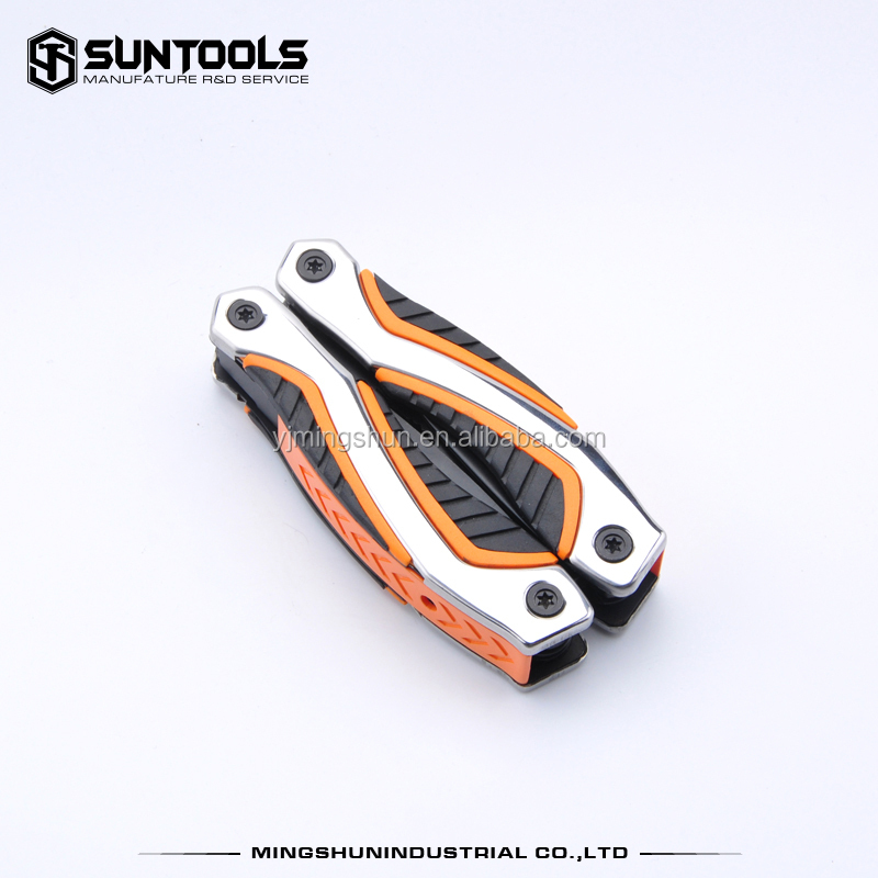 Multi-function black finish long-nose head Camping Combination pliers