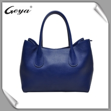 Fashionable hard leather tote bag price low for sale