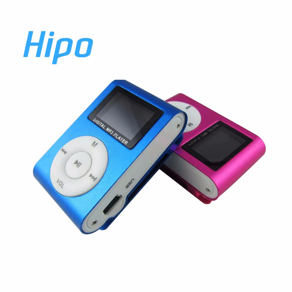 Free Shipping Bulk Wholesale Mini USB LCD Screen Music MP3 Player Support 32GB TF Card