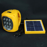 Portable long distance camping emergency led lights solar rechargeable lantern with radio