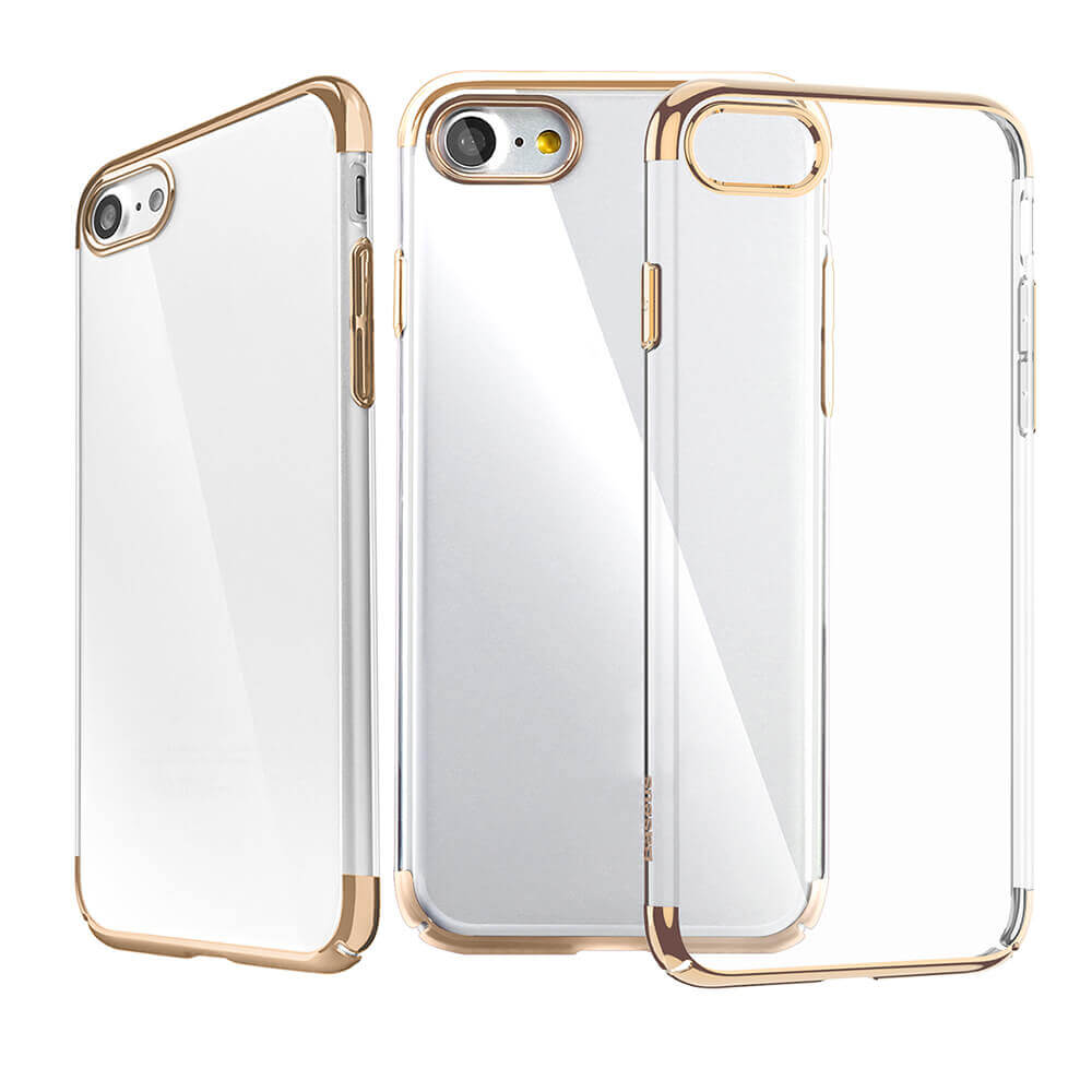 Original Baseus Gilitter Case For iPhone 7 plus <strong>Phone</strong> Protective Shell Ultra-thin Anti-scratch Cover