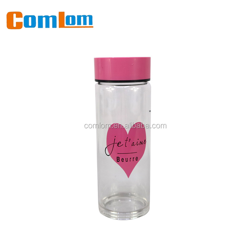 CL1C-GATZ8048 Comlom Wholesale Glass Water Bottle Borosilicate Glass