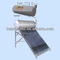 Pre-heated pressurized solar water heater (Stainless steel series)