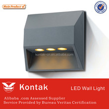Modern design 3W led wall lights with ledlink lens for hotel decoration