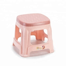 Elegant Multi-specification Durable and Strong Colorful Square Stackable Plastic Stool