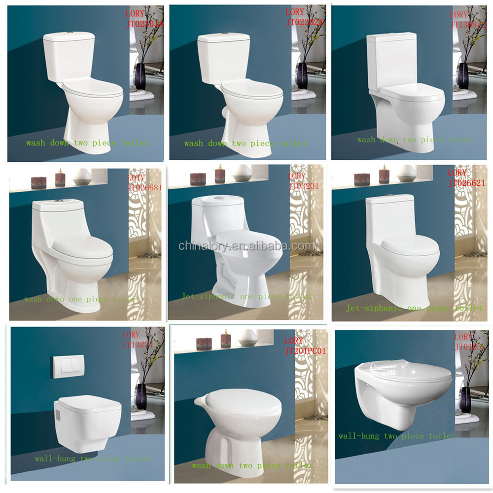 New Design Ceramic Two Piece Promotional Wall Hung Toilet