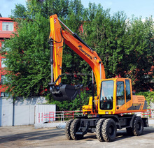 JYL615E-N China Middle Wheel Excavator for sale with lower price and same performance to Doosan