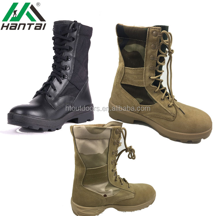 woodland army boots shoes s3 black army military