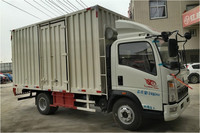 Malaysia use Cargo Van Truck low price