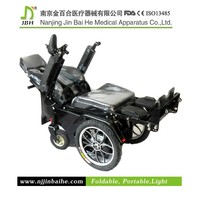 Lying and Standing electric wheelchair powered indoors light
