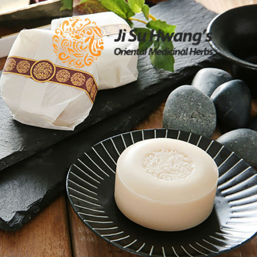 Ji Su Hwang oriental medicinal herbal soap 1 unit