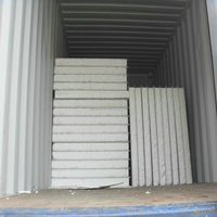 different ral colors EPS sandwich wall panel for warehouse, rezidential ,prefab house.