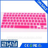 silicone keyboard numbered key cover for macbook Air 11inch