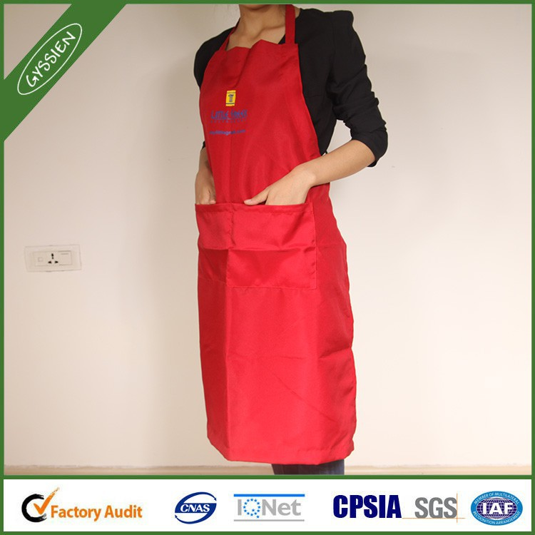 China wholesale orange/red/custom cooking apron,lead apron price