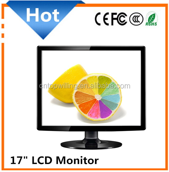 Wholesale price 17 inch super tft lcd color tv monitor