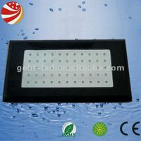 hot sale and quality dimmable 120w(55*3w) diy led aquarium lights coral reef tank