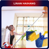 Super Home essential Rotate 360 degrees ceiling corner electrostatic duster, cleaning duster, Convenient and flexible duster,