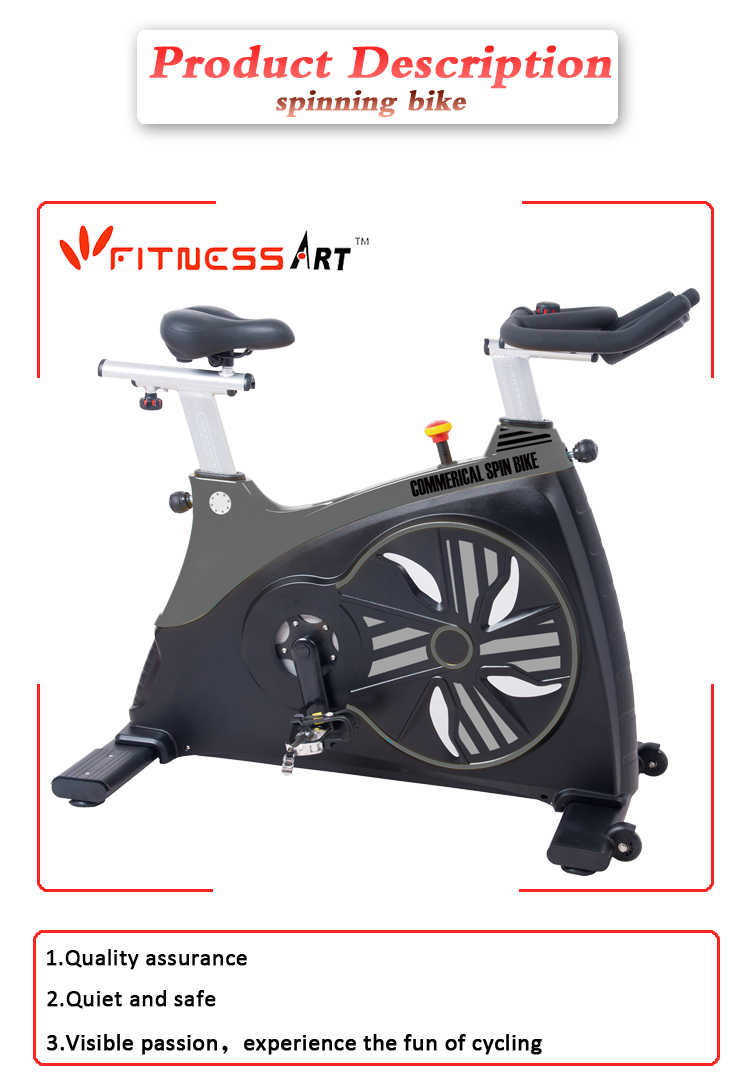 Home fitness gym magnetic exercise bike body strong spinning bike