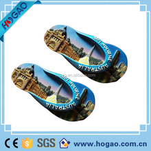 2012 new promotional shaped resin fridge magnet for home decoration
