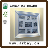 Huizhou Arbay factory custom matboard and matboard box matboard photo album with good price