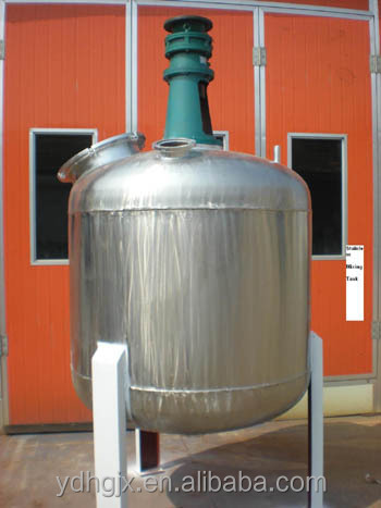 stainless steel mixing tank for food syrups