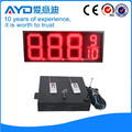 Hidly 12 Inch Red Electronic LED Gas Price Display