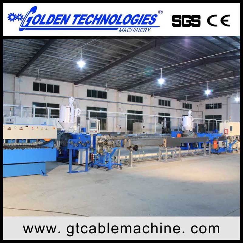 Power Cable Extrusion Making Machine