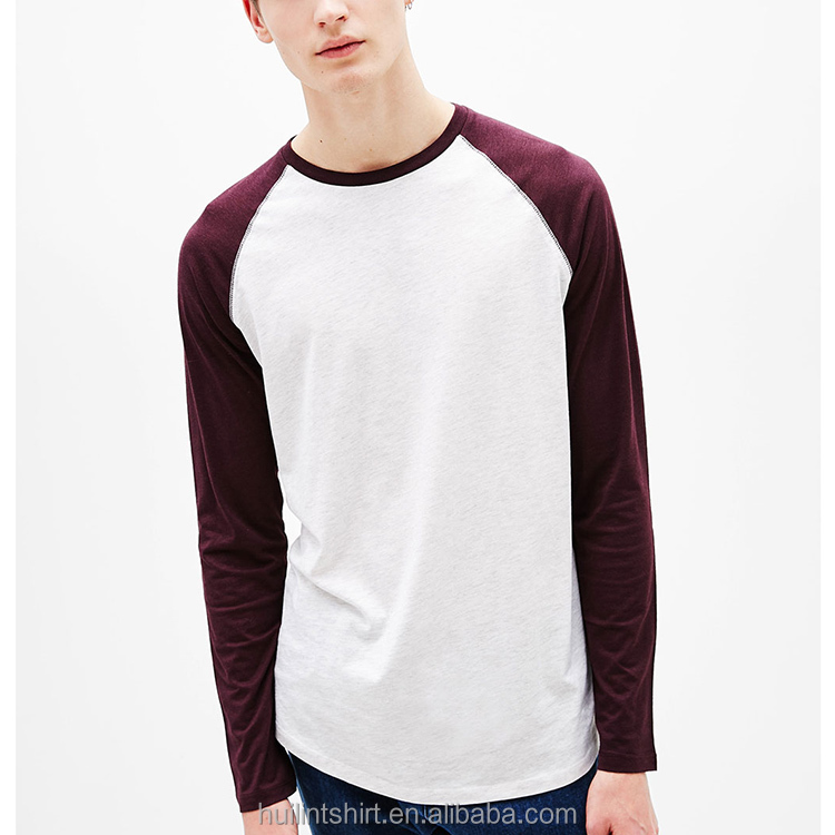 guangzhou clothing custom men long sleeves collar bamboo dry fit white oversized t-shirt