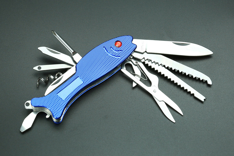 Fish design cheap Price Customized Multi-Function + Pocket Knife Folding