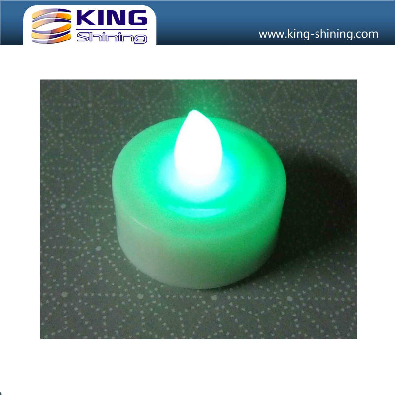 Blue Flickering LED Tealight Candle