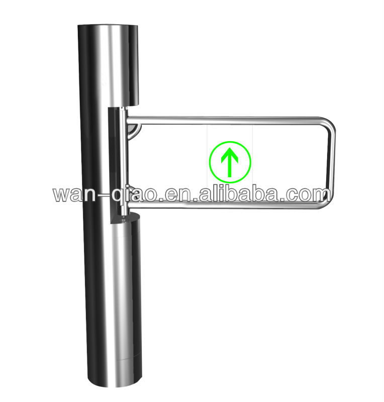 Column Manual Swing Gate Turnstile with Access Control System for Airport,Supermarket,Bus Station and Marketplace