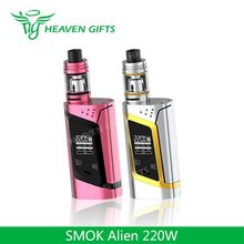 New Released Wholesale 3ml/ 2ml TFV8 Baby Tank SMOK Alien 220 e-sigaret