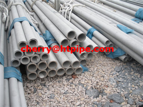 ASME SA312 TP310H welded stainless steel pipe