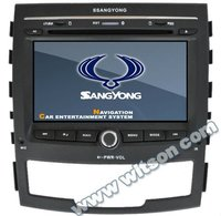 WITSON SSANGYONG KORANDO AUTO RADIO CAR DVD with built-in Bluetooth