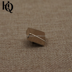 High-end designer square shirt buttons with smooth surface
