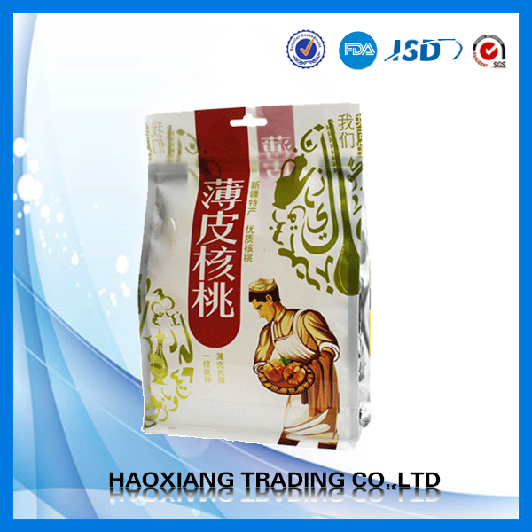customized food packaing stand up pouch in made china