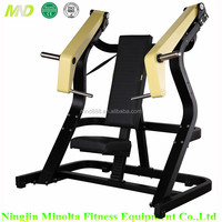 Strength Training Plate load Gym Exercise Equipment Olympic G15 Incline Chest press Bench for sale with good price