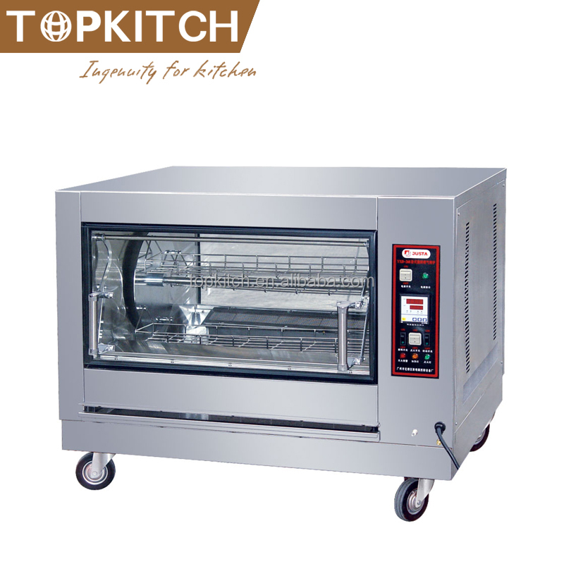Commercial Restaurant Using Electric Rotisserie for Sale