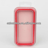 Hot Selling TPU Bumper Frame Case with Metal Buttons for iPhone 4 Bumper Case